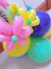 Age 1 - 9 balloon arrangement