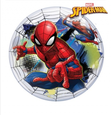 Spiderman bubble balloon