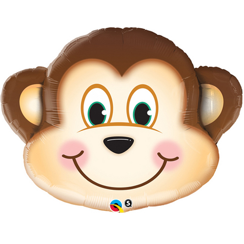 Monkey balloon supershape animal