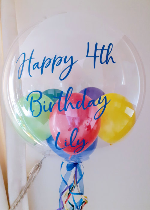 Personalised Balloon, Multicolour