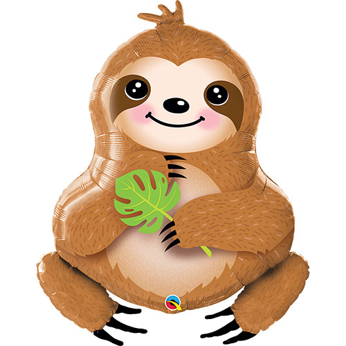 Sloth balloon supershape animal
